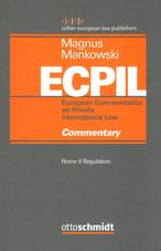 European commentaries on private international law ECPIL