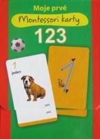 Moje prvé Montessori karty 123