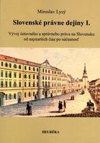 Slovenské právne dejiny I.