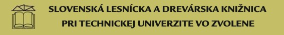 logo Slovenská lesnícka a drevárska knižnica pri Technickej univerzite vo Zvolene