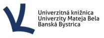 logo Univerzitná knižnica Univerzity Mateja Bela